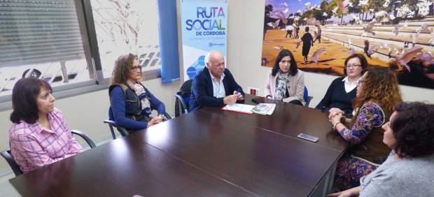 Jesús Aguirre con la Plataforma Libres de Essure