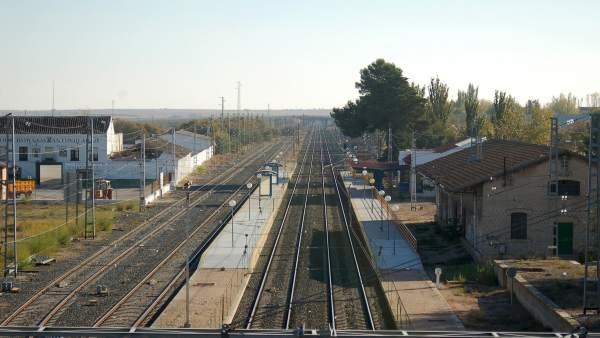 Ferrocarril, tren, estación