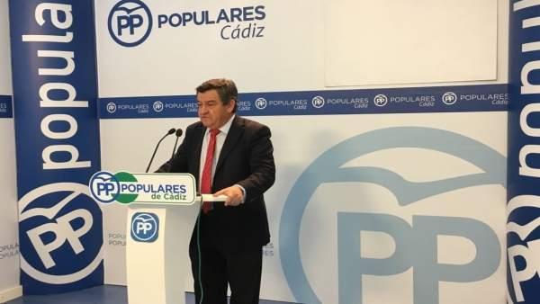 El portavoz del PP en Diputación, José Loaiza