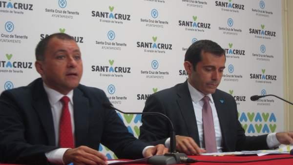 Bermúdez y Martínez, en rueda de prensa