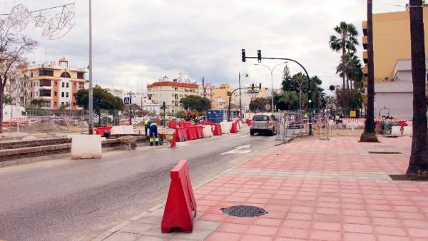 Avenida Juan Carlos I de Estepona