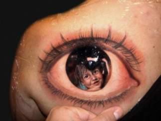 ¿Una mano en un ojo o un ojo en una mano?