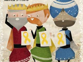 La Asamblea Nacional Catalana de Manresa llama a vestir de amarillo en la cabalgata de Reyes
