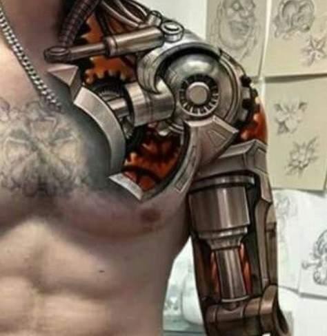 Foto A Mitad De Conversión 13 Tatuajes 3d Que Superaron Todas Las