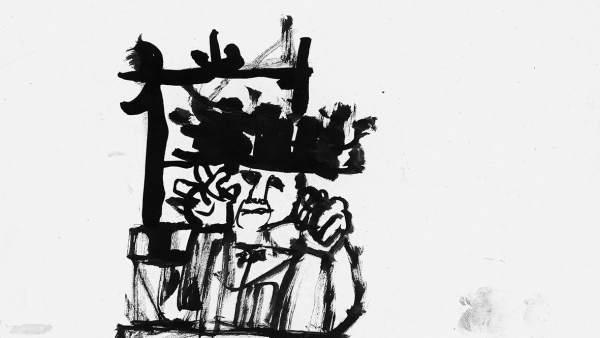 Dibujo de Eduardo Arroyo