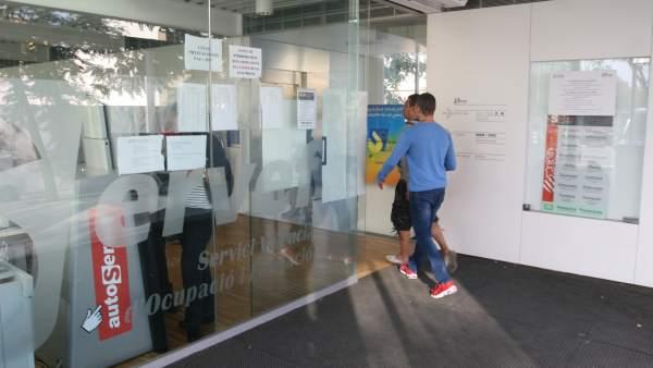 L'atur va baixar en 33.258 persones a la Comunitat Valenciana durant l'any 2017