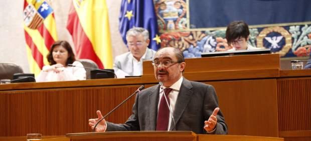 El presidente del Gobierno de Aragón, Javier Lambán.