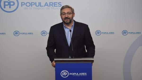 El diputado popular Víctor Martínez