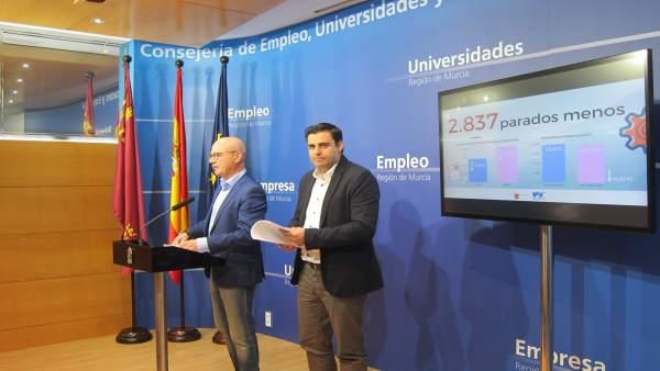 Hernández ofrece el balance sobre los datos del paro en 2017