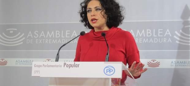 Portavoz De Empleo Del Grupo Popular En La Asamblea, María Angeles Muñoz