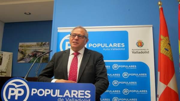 Martínez Bermejo, en rueda de prensa.