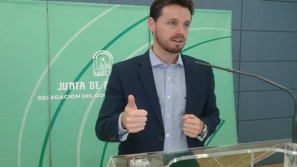 Juan José Martín Arcos, delegado de Economía y Empleo en Granada