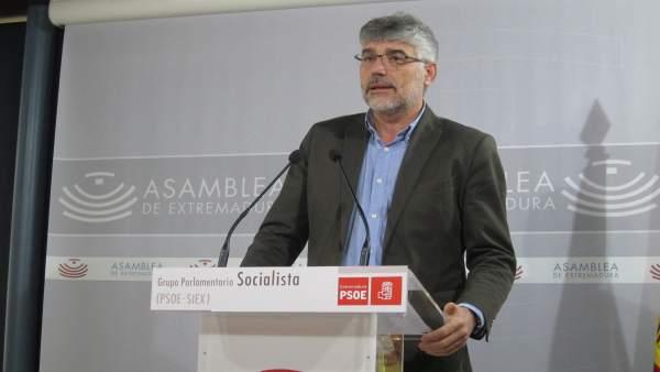 Portavoz del Grupo Parlamentario Socialista, Valentín García