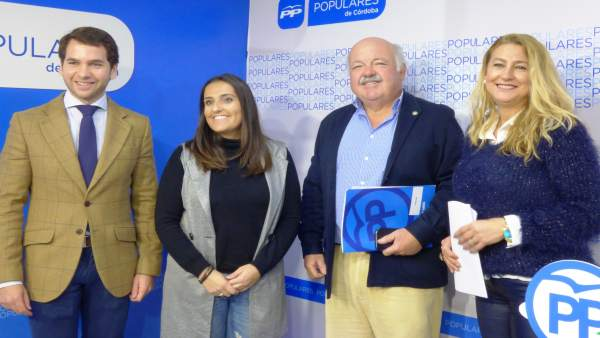 Fernando Priego, Beatriz Jurado, Jesús Aguirre e Isabel Cabezas