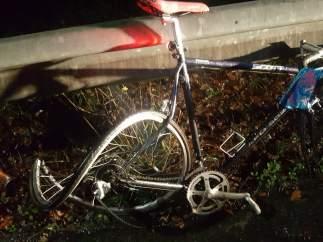 Atropello a un ciclista