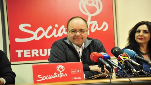 Portavoz del grupo del PSOE en el Ayuntamiento de Teruel, José Ramón Morro