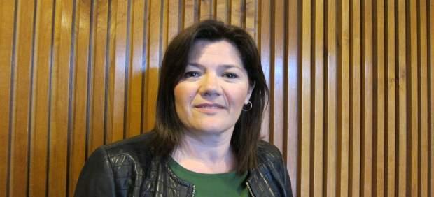 Carmen Martínez, diputada de CHA