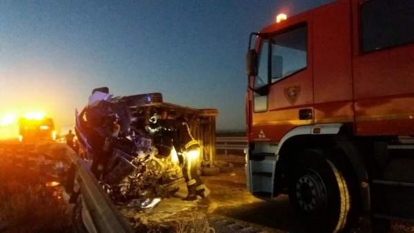 Accidente de carretera