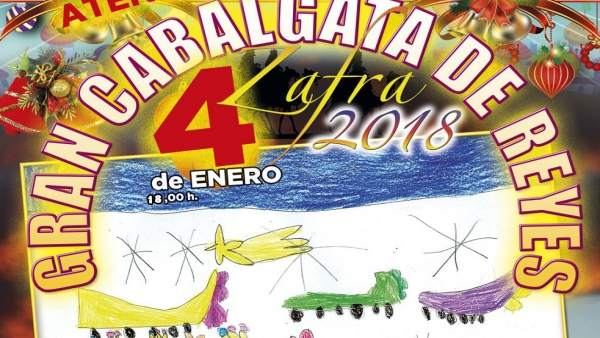 Cartel cabalgata de Reyes día 4