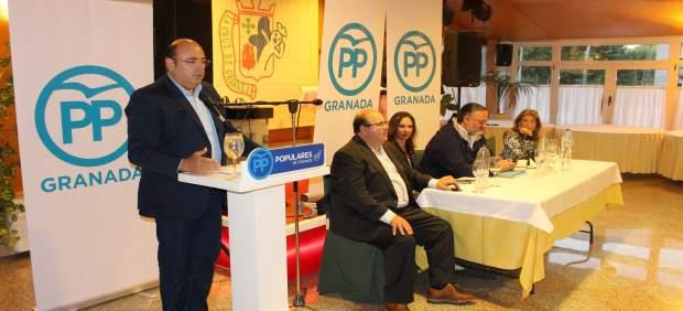 El presidente provincial del PP de Granada, Sebastián Pérez.