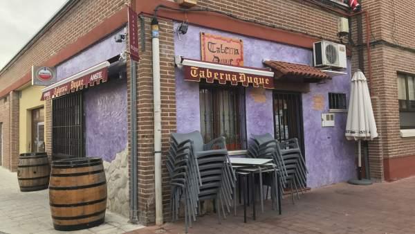 Valladolid.- Uno de los bares que fue desvalijado el pasado 29 de diciembre