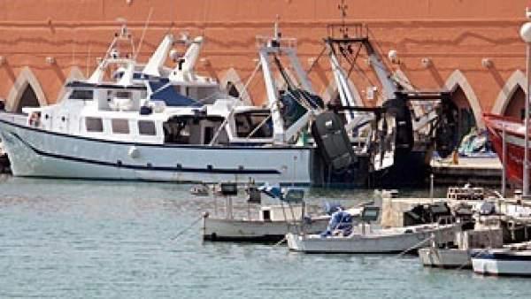 Barcos en el puerto de Palma