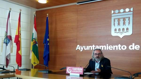 Jose Manuel Zúñiga, concejal de Cambia Logroño