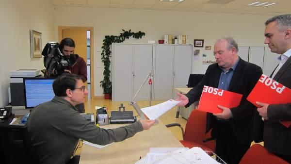 Martín e Izquierdo registran la nueva petición de amparo