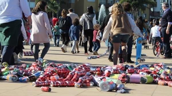 Arrastre de latas de Algeciras