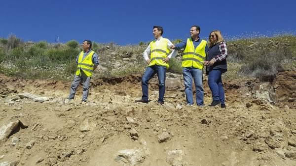 Primera fase de obras de la Diputación en Lubrín (Almería)