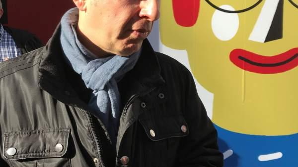 El portavoz de CHA en el Ayuntamiento de Zargoza, Carmelo Asensio