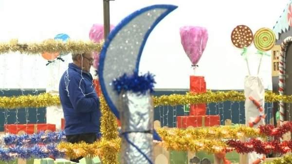 Carroza de la Cabalgata de Reyes de Mérida