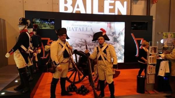 Recreadores de la Batalla de Bailén en Tierra Adentro