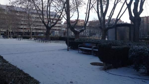 Nieve, frío, Valladolid