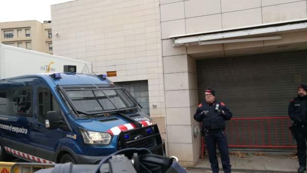 Operación Sijena ante el Museu de Lleida