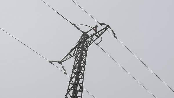 Línea eléctrica de Endesa