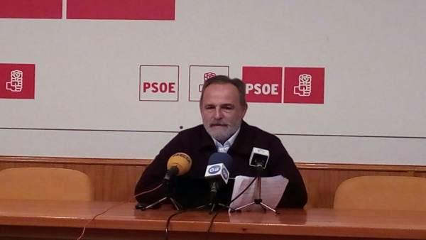 El diputado nacional del PSOE Salvador de la Encina