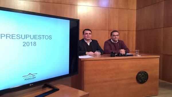 Presentación de presupuestos de Andújar