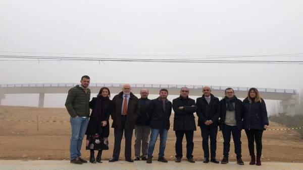 Visita del grupo parlamentario del PSOE