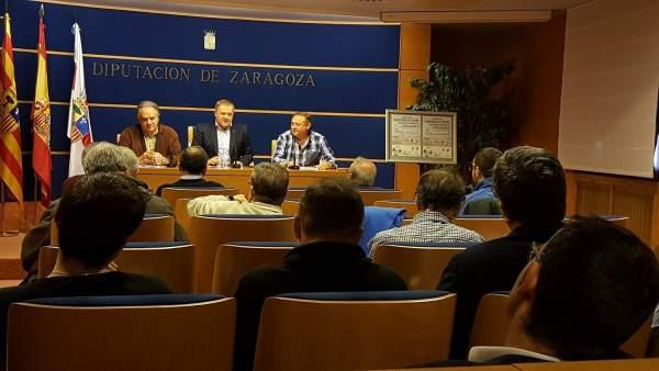 Presentación de la competición de fútbol sala que acoge Borja este mes