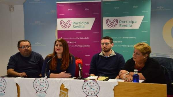 Rueda de prensa de Participa Sevilla