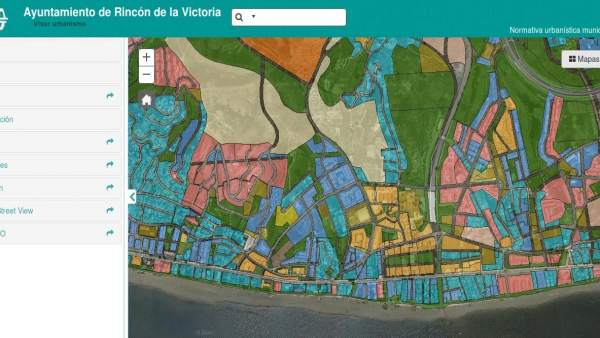 Visor sobre urbanismo de Rincón de la Victoria