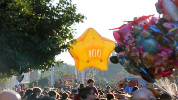 Cabalgata de Reyes Magos en Sevilla
