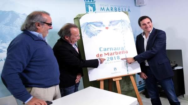 Presentación del cartel del carnaval de Marbella