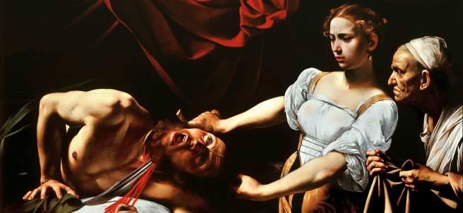 'Judit y Holofernes' de Caravaggio
