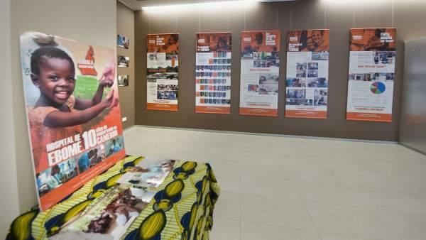 Exposición fotográfica de la ONG Ambala en CHN