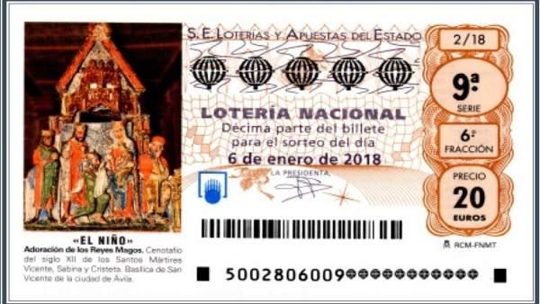 Decimo Loteria de El Niño 2018
