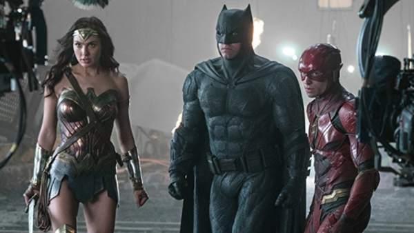 Liga de la Justicia Batman Wonder Woman Flash DC