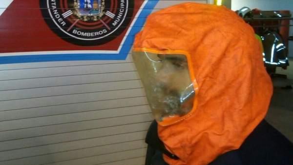 Máscara de seguridad para evacuación