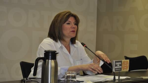 La secretaria general de CHA, Carmen Martínez.